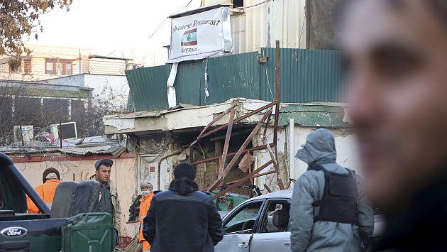 Dos estadounidenses figuran también entre fallecidos en el atentado contra un restaurante de Kabul. (AP)