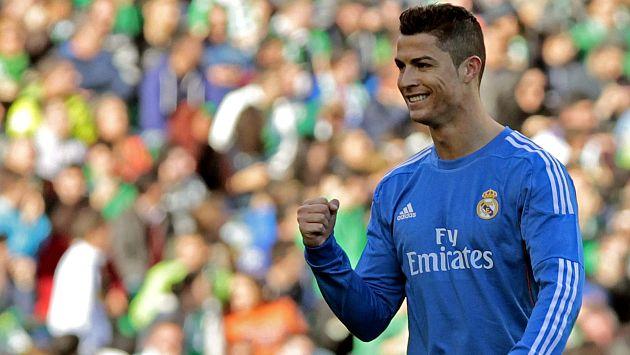 Cristiano Ronaldo le metió un golazo al Real Betis. (Youtube)