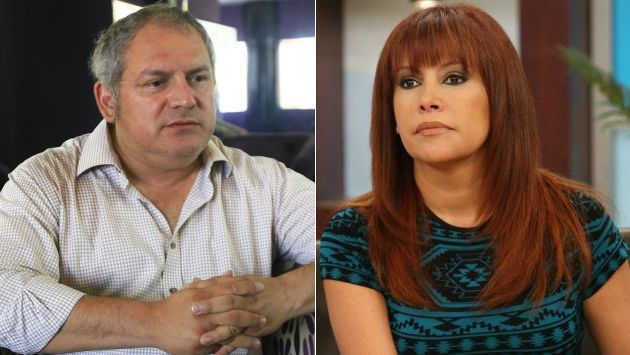 Álamo Pérez-Luna y Magaly Medina se enfrentan en Twitter. (USI)