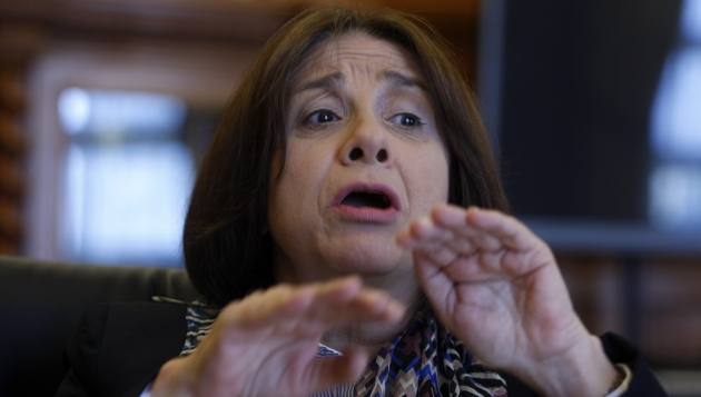 Midori de Habich descartó privatización del sector Salud. (Nancy Dueñas)