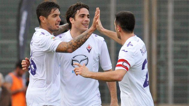 Juan Vargas va recuperando la confianza del técnico Vincenzo Montella. (EFE)