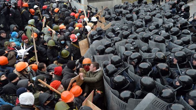 Ucrania vive protestas desde hace más de dos meses. (AFP)