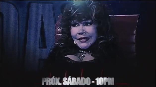 La 'Tigresa del Oriente' estará este sábado en el programa que conduce Beto Ortiz. (Captura de video)