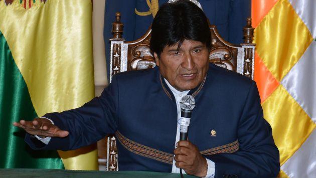 Trece 'frases célebres' de Evo Morales que ganaron titulares. (AFP)