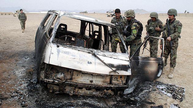 Talibanes asumieron la autoría del ataque. (EFE)