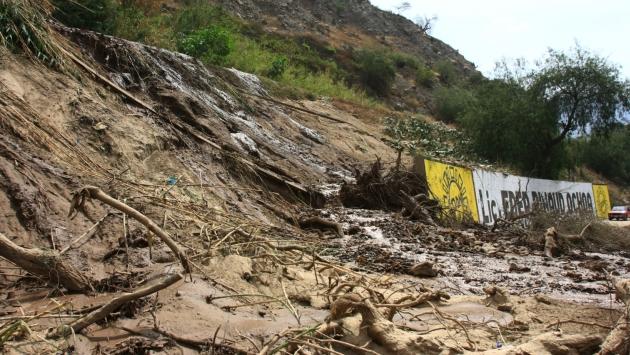 Aludes no cesan en la sierra. (Perú21)
