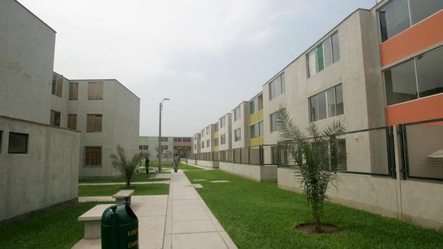 Serán viviendas de bajo costo. (Perú21)