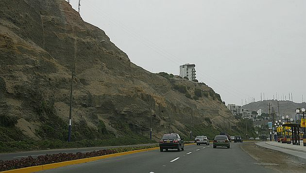 Obras de enmallado de la Costa Verde en el tramo de Miraflores están previstos para abril. (USI)