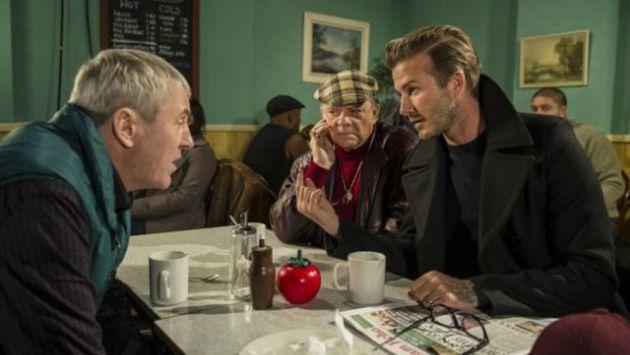 David Beckham aparecerá en una escena junto a los hermanos protagonistas. (Difusión)