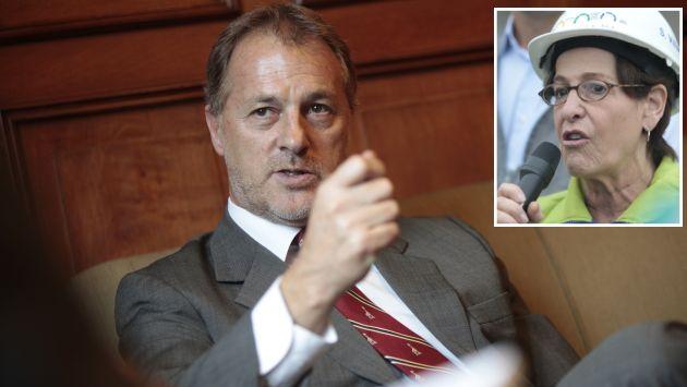 Muñoz acusa a Villarán de desinformar para deslindar responsabilidades. (USI/Mario Zapata)