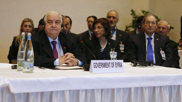 Régimen sirio se muestra inflexible y complica las negociaciones de paz. (AP)