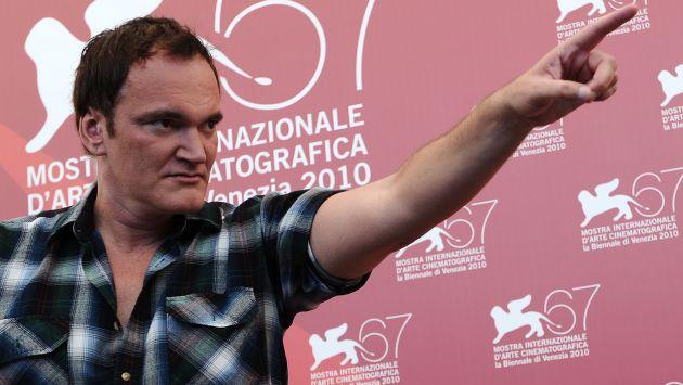 Quentin Tarantino cancela película tras filtración de guión. (AFP)