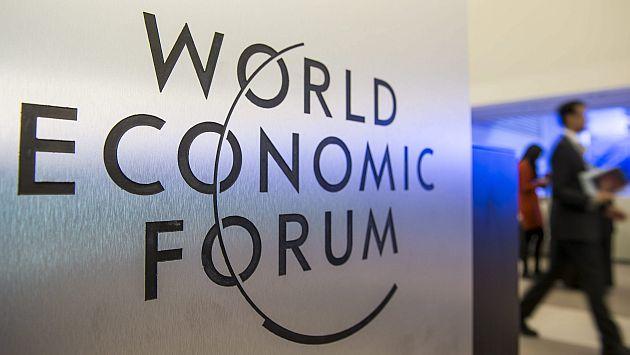 Foro Económico Mundial en Davos (Suiza) arrancó hoy. (EFE)