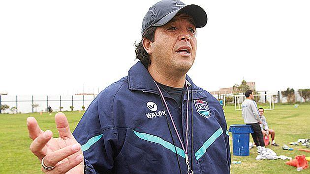 Víctor Rivera tendrá una difícil misión al frente de la Sub 20 de Perú. (USI)
