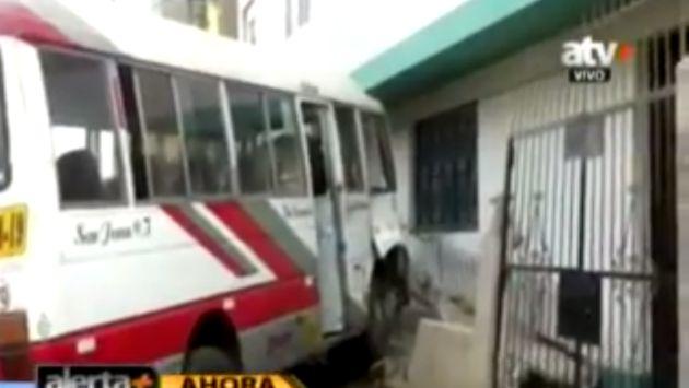 Orión y sus unidades siguen causando accidentes. (ATV )