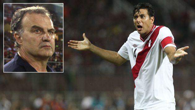 "Gonzalo Núñez: ""Claudio Pizarro no quiere que venga Marcelo Bielsa"". (USI)"