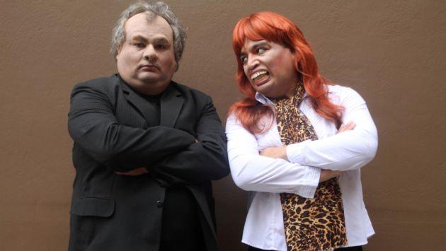 'El Especial del Humor' parodia lío entre Álamo Pérez-Luna y Magaly Medina. (Difusión)