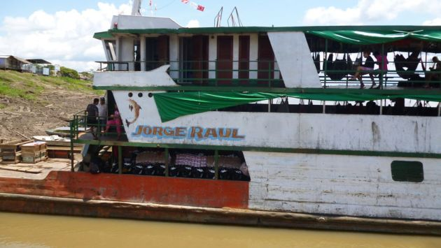 Loreto: Delincuentes asaltan a 100 pasajeros en pleno río Huallaga. (Referencial)