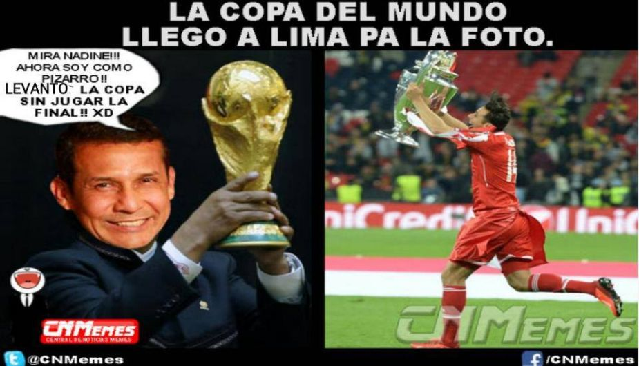 Copa Del Mundo 2014 Trofeo Copa Del Mundo Memes