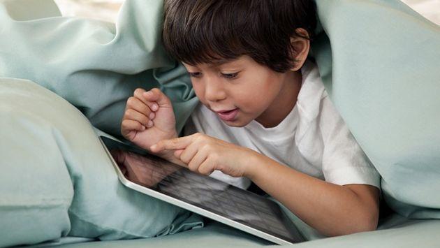 Minsa: Uso excesivo de tablets y smartphones causa miopía en niños. (Internet)
