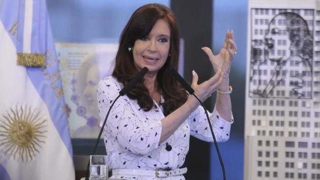 Cristina Fernández reapareció tras 42 días de silencio político. (EFE)