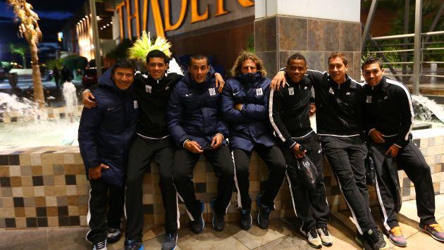 Alianza Lima: Jugadores disfrutaron de una tarde de shopping en España. (Fernando Sangama/USI)