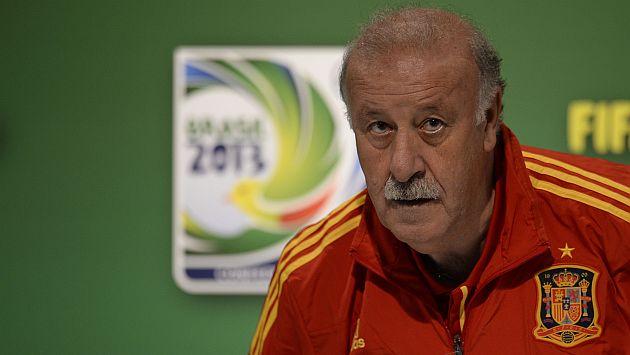 Vicente Del Bosque es el mejor seleccionador del mundo. (AFP)