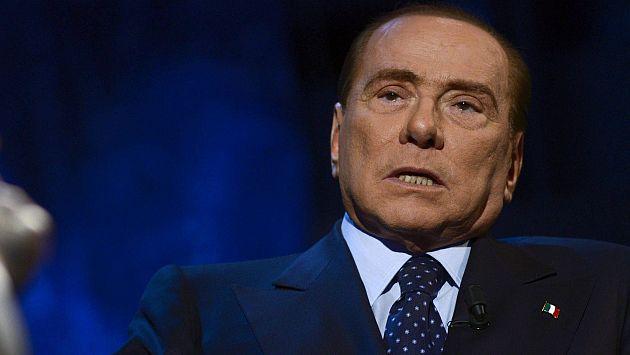 Silvio Berlusconi enfrenta nueva investigación en caso de prostitución. (EFE)