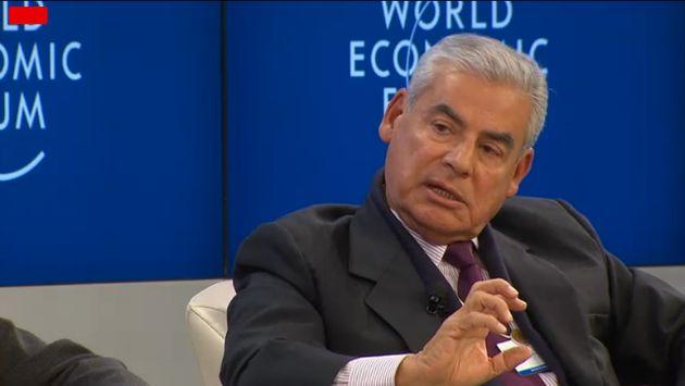 César Villanueva resalta interés por Perú en Foro Económico Mundial. (Captura de video)