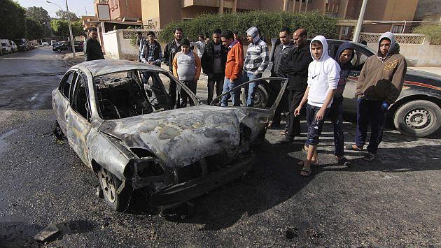 La violencia en Libia aumenta año a año. (EFE)