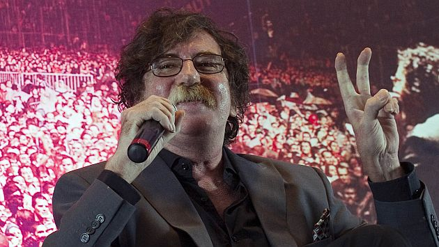 Charly García entró a emergencias a sus 62 años. (AFP)
