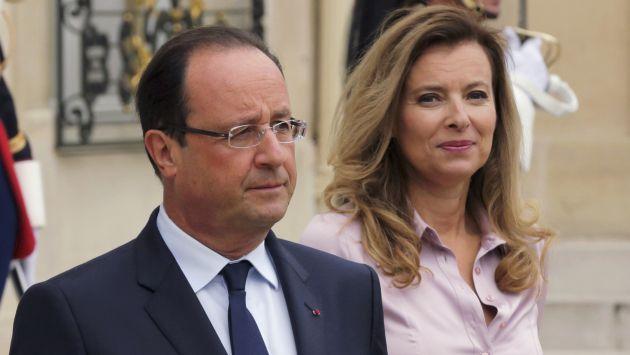 """Francia: Primera dama desea salida """"digna"""" de su relación con Hollande. (Reuters)"""