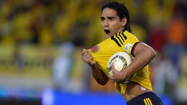 Radamel Falcao: 'Mi ilusión del Mundial Brasil 2014 todavía está viva'. (AFP)