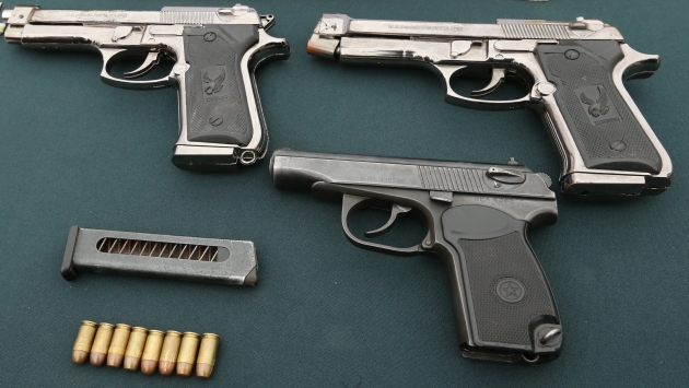 Armamento no está registrado ante la autoridad competente. (USI)