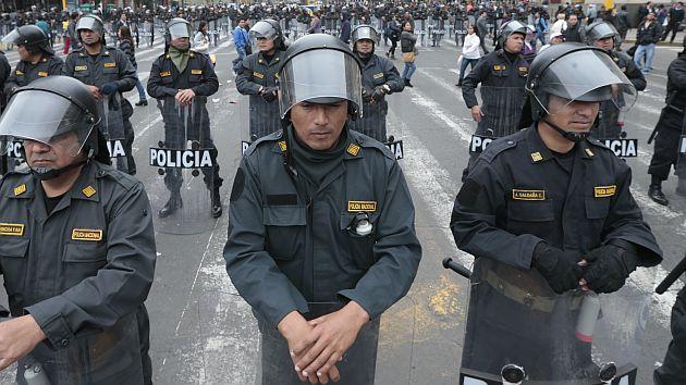 La Haya: Policías se encargarán de mantener el orden en Tacna. (César Fajardo)