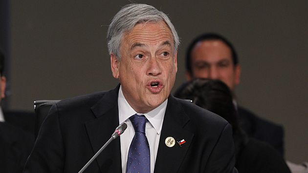 Piñera reitera que fallo no se podrá cumplir de inmediato
