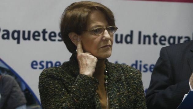 Susana Villáran será citada por la Fiscalía. (USI)