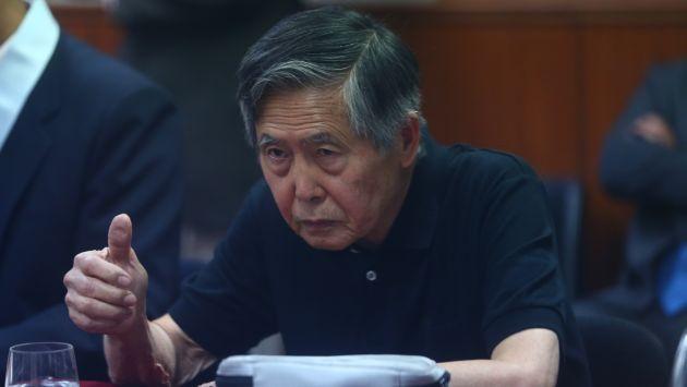 Alberto Fujimori salió bien librado del caso de las esterilizaciones forzadas. (Perú21)