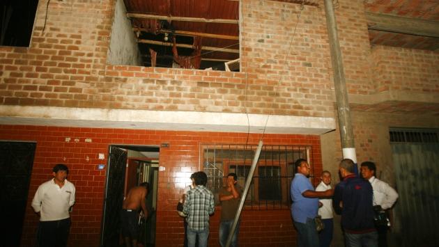 Siniestro ocurrió en una casa. (José Caja/USI)