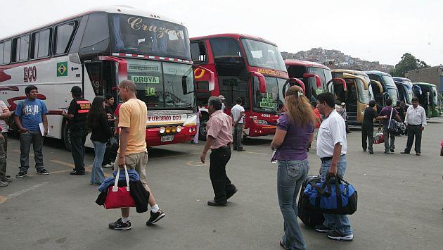 Dos turistas alemanas sufrieron robo en terminal de buses. (USI/Referencial)