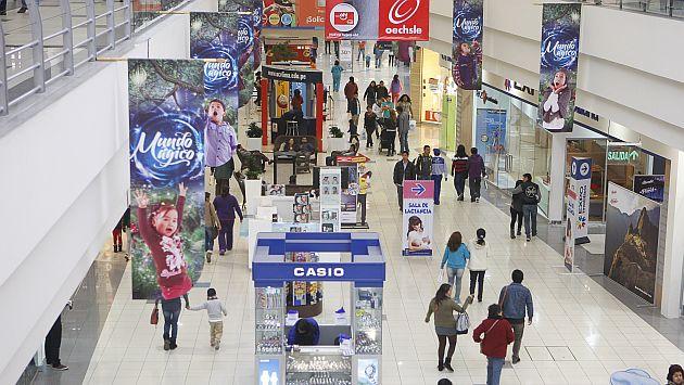 Vista de Plaza Lima Norte, uno de los centros comerciales de mayor expansión. (USI)