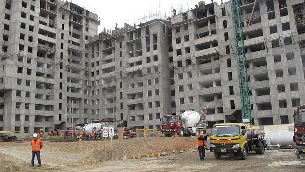 La construcción sigue siendo importante para el crecimiento económico. (Sharles Neyra)