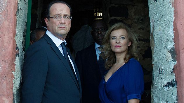 François Hollande y Valérie Trierweiler terminaron su relación. (Reuters)
