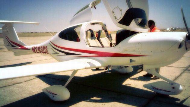 Punta Negra: Caída de avioneta cerca a la Panamericana Sur deja un herido. (USI/Referencial)