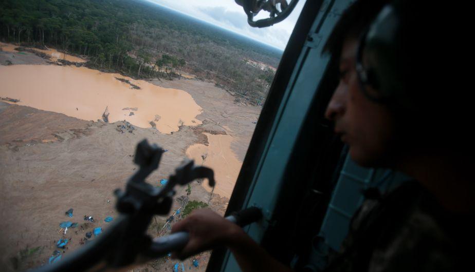 Minería ilegal, Tambopata
