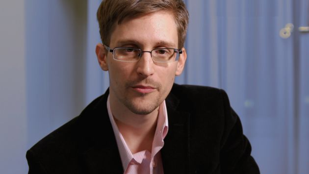 Edward Snowden habló para una televisora alemana. (AFP)