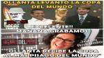 Ollanta Humala es blanco de burlas por levantar Copa del Mundo [Memes] - Noticias de mundo
