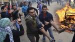Egipto: Al menos 29 personas mueren en aniversario de la revolución - Noticias de hosni mubarak