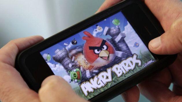 Angry Birds en la mira porque serviría para espiar a usuarios. (Bloomberg)
