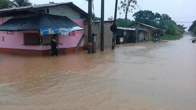 Lluvias dejan más de 6,000 afectados en Madre de Dios. (Defensa Civil)